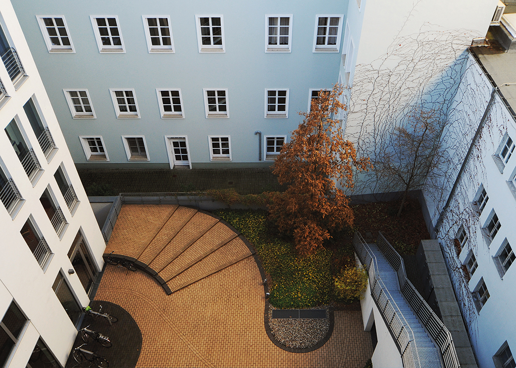 WOHNEN AM DT. THEATER | Rüthnick Architekten