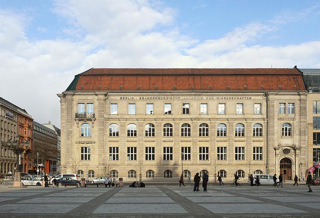 Berlin brandenburgische akademie der wissenschaften