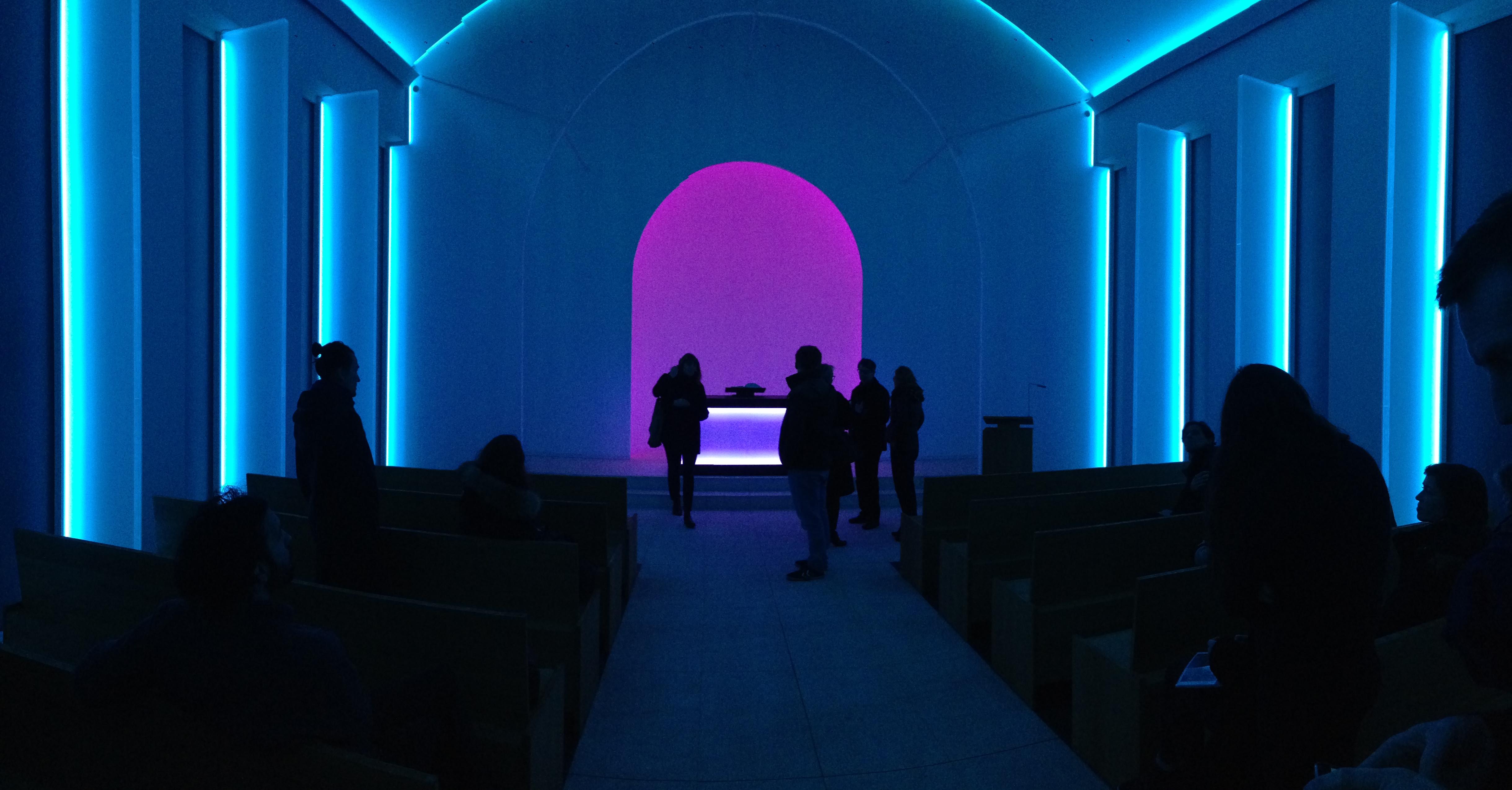 Lichtkunst zum Jahresabschluss | Rüthnick Architekten